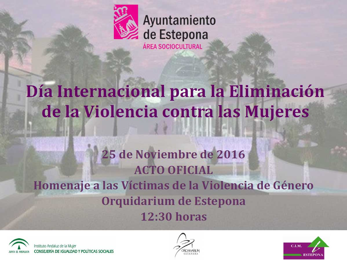 Acto para la eliminación de la Violencia contra la Mujer