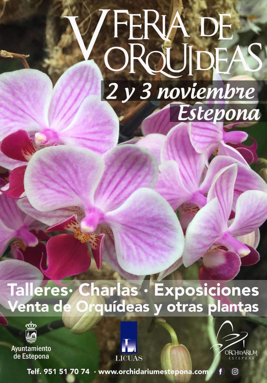 El Parque Botánico Orquidario de Estepona acoge la celebración de la V Feria de Orquídeas